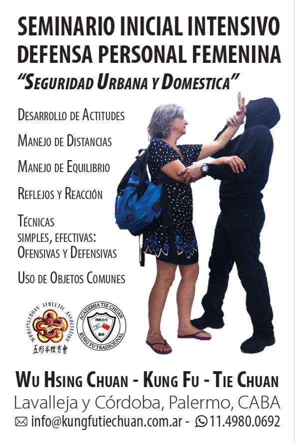 2017 Seminario Defensa Personal Femenina