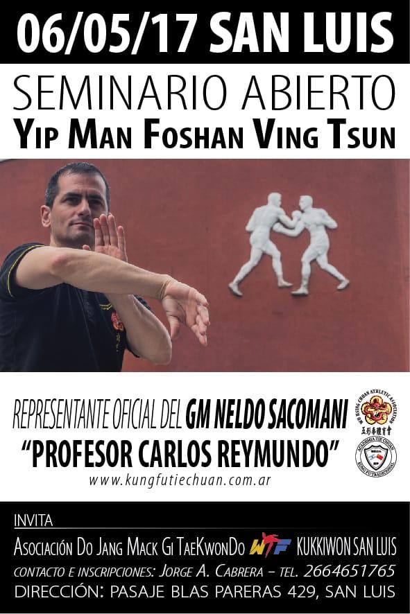 06052017 Seminario Wing Chun