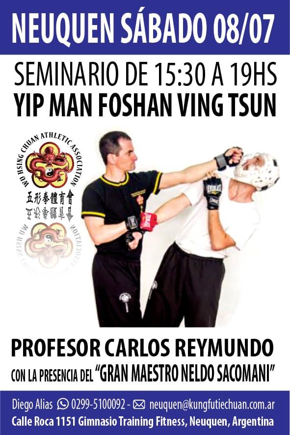 08072017 Seminario Wing Chun