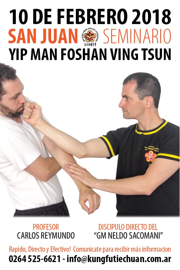 10022018 Seminario Wing Chun